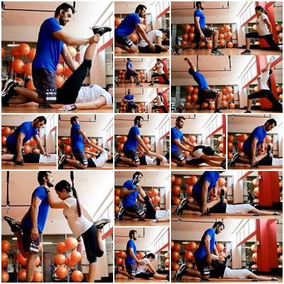 Ejemplos de ejercicios de estiramiento para aplicar en parejas después de hacer ejercicio
