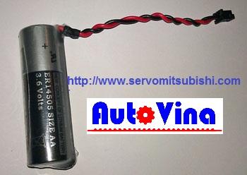 Bán pin 3.6V dùng cho PLC, Servo Mitsubishi