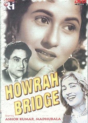 Poster Of Hindi Movie Howrah Bridge 1958 Full HD Movie Free Download 720P Watch Online