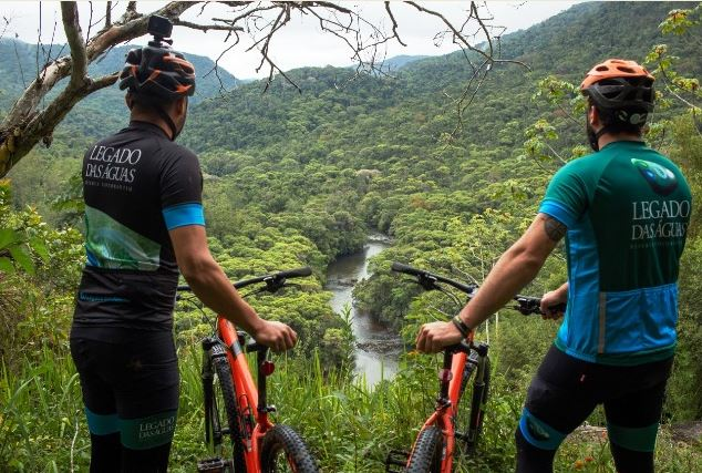 Legado das Águas e Fundação Florestal inauguram nova trilha de mountain bike no 2 Workshop Rota de Aventura