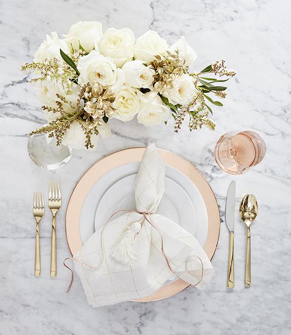 Presentar la mesa: tres estilismos