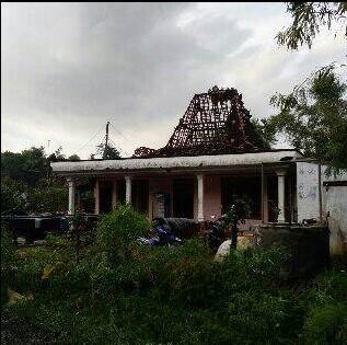 Puting Beliung Menerjang Desa Bringinwareng Winong Pati, Puluhan Rumah Rusak Berat 11