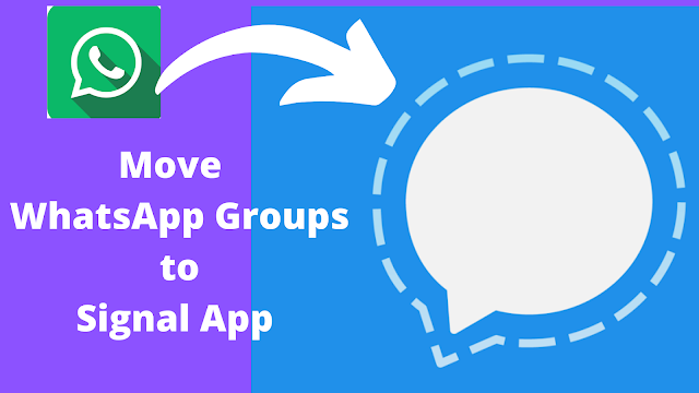 How to Move Your WhatsApp Group Chats to Signal App