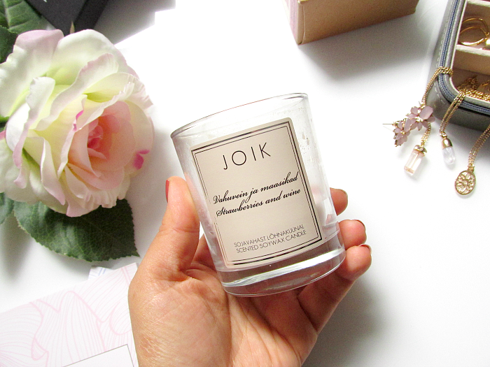 JOIK Scented Soywax Candles - 12.50 Euro