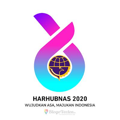 Harhubnas 2020 Logo Vector