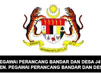 Jawatan Kosong Pegawai Perancang Bandar dan Desa J41 & Penolong Pegawai Perancang Bandar dan Desa JA92