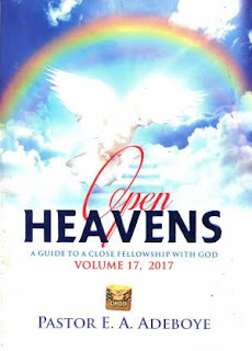 Open heaven 15 October 2017