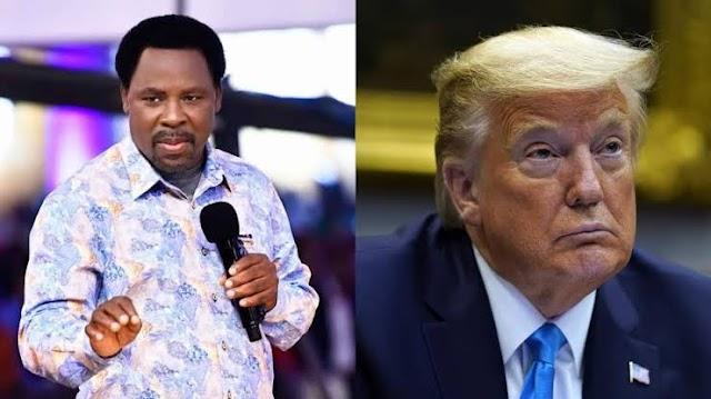 US election: Prophet T.B Joshua sends new message to Donald Trump