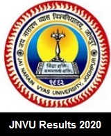 JNVU Results 2020