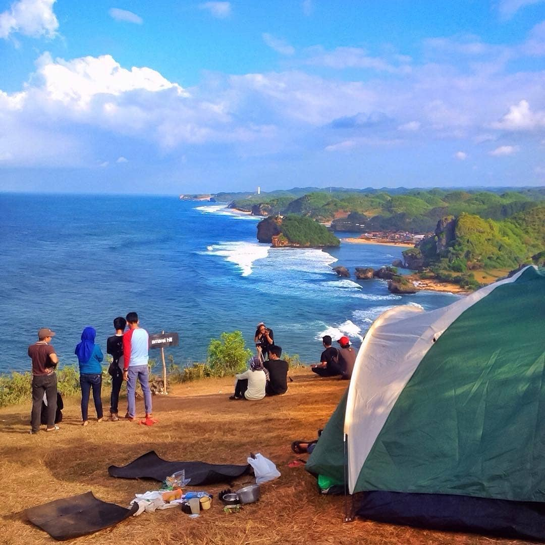 Tiket Masuk Puncak Kosakora Jogja Tempat Camping Terbaru Di Gunung