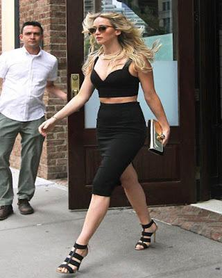 outfit negro casual de moda