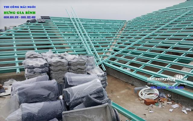Công ty Hưng Gia Bình - Nhà thầu thi công mái ngói trọn gói