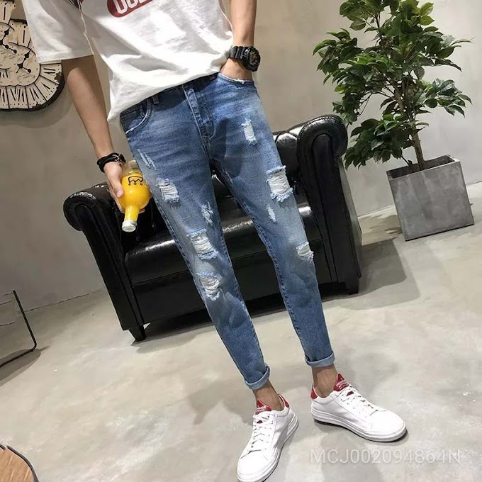 Men's Fashion Casual Jeans Jy-801