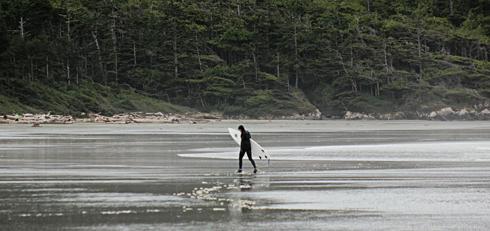 Tofino BC Vancouver Island Surfing