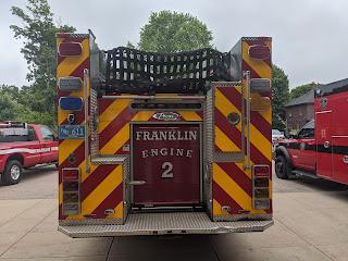 A Message from the Franklin Fire Department - PFAS & Foam