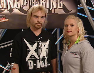 WWE / WWF - King of the Ring 2001 - Spike Dudley & Molly Holly were a couple