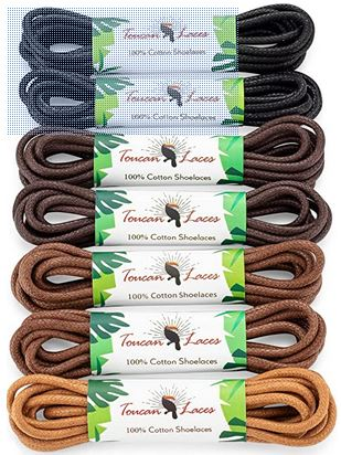 7 Pairs Dress Shoe Laces for Mens For thursday Boots