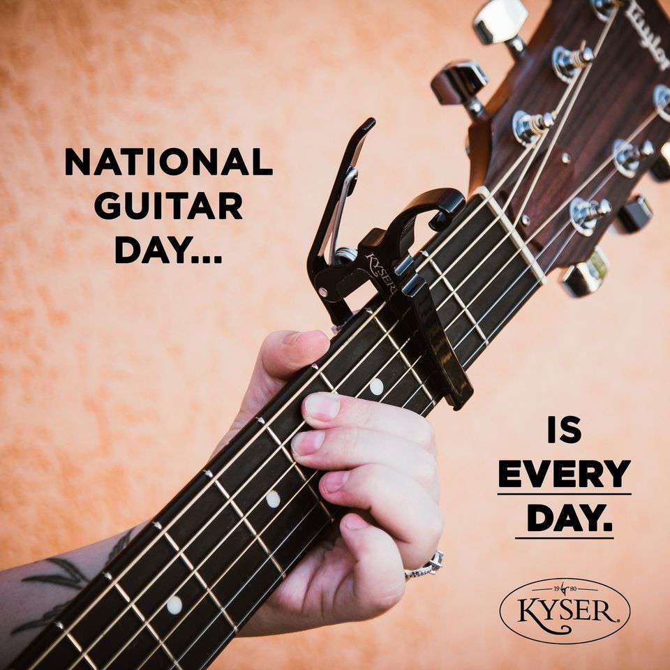 National Guitar Day Wishes