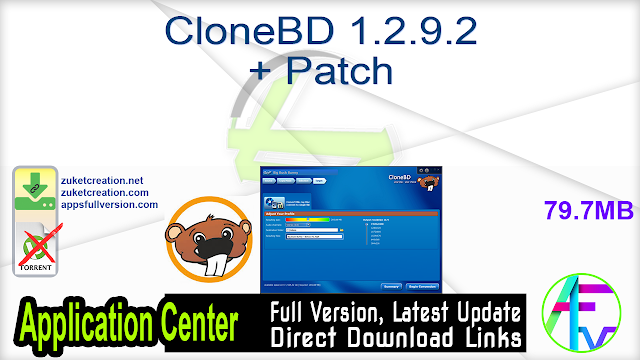 CloneBD 1.2.9.2 + Patch