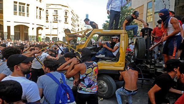 Beirut se mantiene en calma tras protestas antigubernamentales