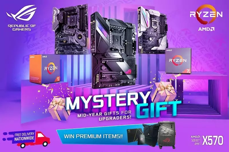 ASUS and AMD Mystery Gift Promotion