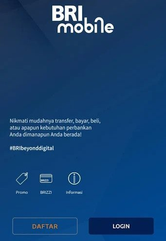 Cara Download BRI Mobile untuk Apple - Blackberry