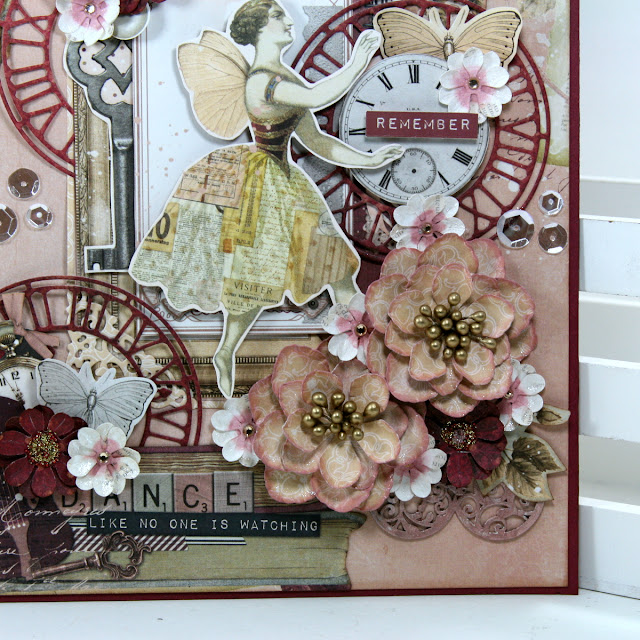 Remember Art Display by Ginny Nemchak using BoBunny Charmed