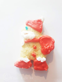 Father Christmas Cookie