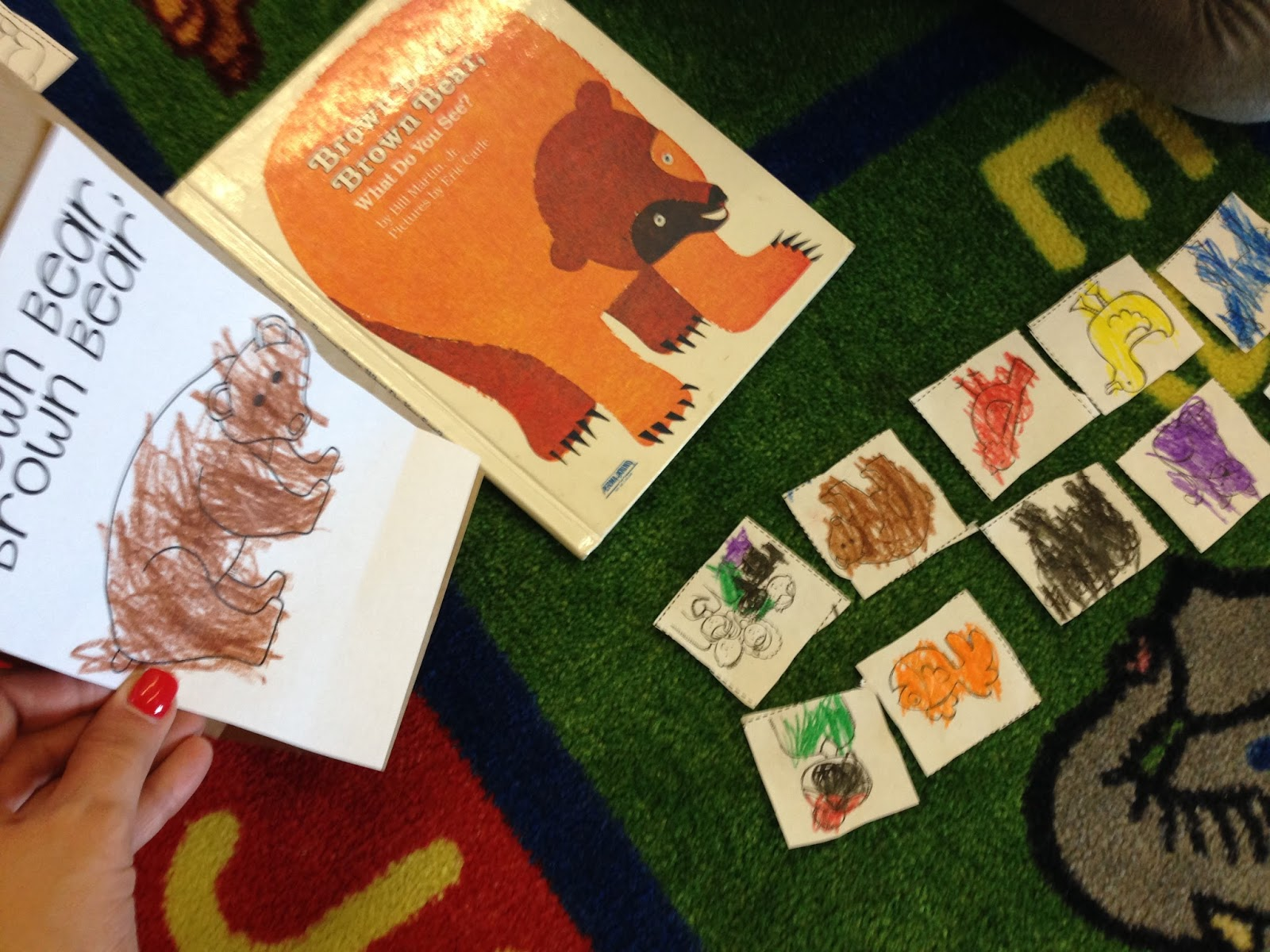 Brown Bear Brown Bear, Bill Martin Jr, kindergarten books