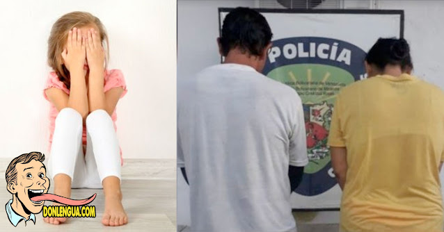Pareja Enfermiza Bajo Arresto | Obligaban a una niña a leer la biblia de rodillas en Charallave