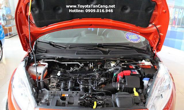 ford fiesta 2014 11 6850 - So sánh Ford Fiesta và Toyota Yaris : Ai là Vua xe Hatchback cỡ nhỏ - Muaxegiatot.vn