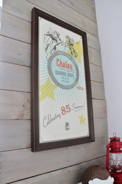 Wall Art: Camp Themed Playroom for Kids