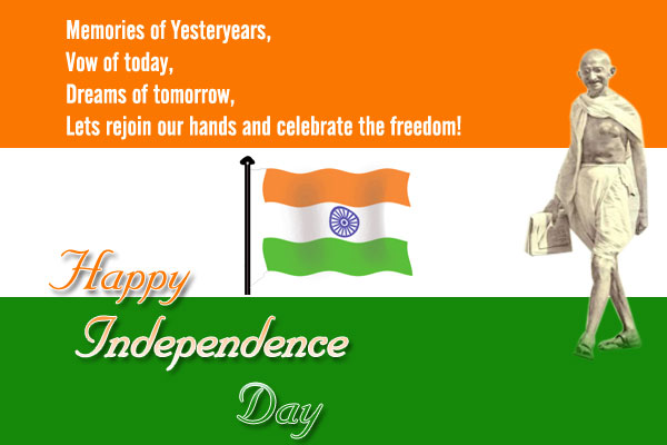 Independence Day Message Images 2015