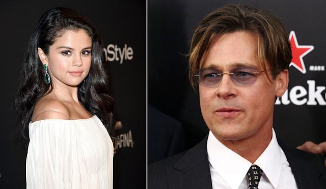 Brad Pitt será meu futuro marido, diz Selena Gomez