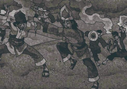 cerita rakyat 4 pendekar di jambi