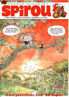 spirou de chez Dupuis éditions est disponible sur yakachiner.com