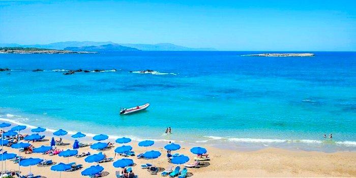 Spiaggia Nea Chora Chania Creta