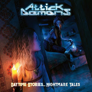 "Ο δίσκος των Attick Demons ""Daytime Stories... Nightmare Tales"""