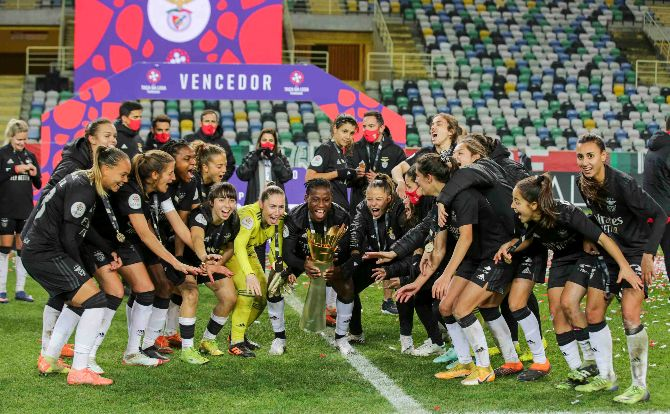 Benfica conquista Taça da Liga Feminina 2019/20