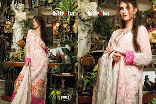 kilruba Jannat ZQ Georgette Pakistani Suits