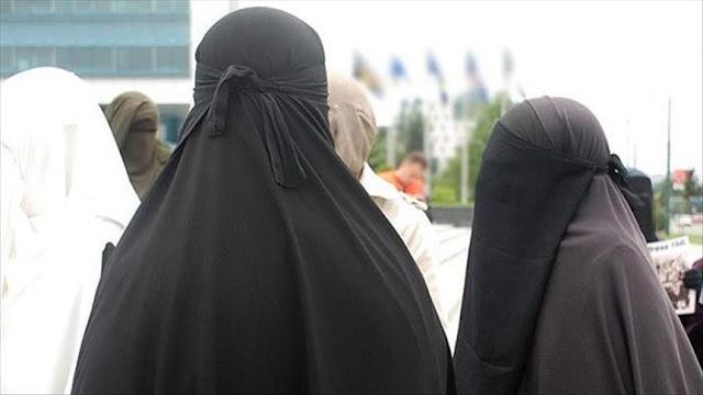 Hanya Karena Pakai Cadar, Dua Pria Serang Dan Tendang Perut Muslimah Yang Sedang Hamil