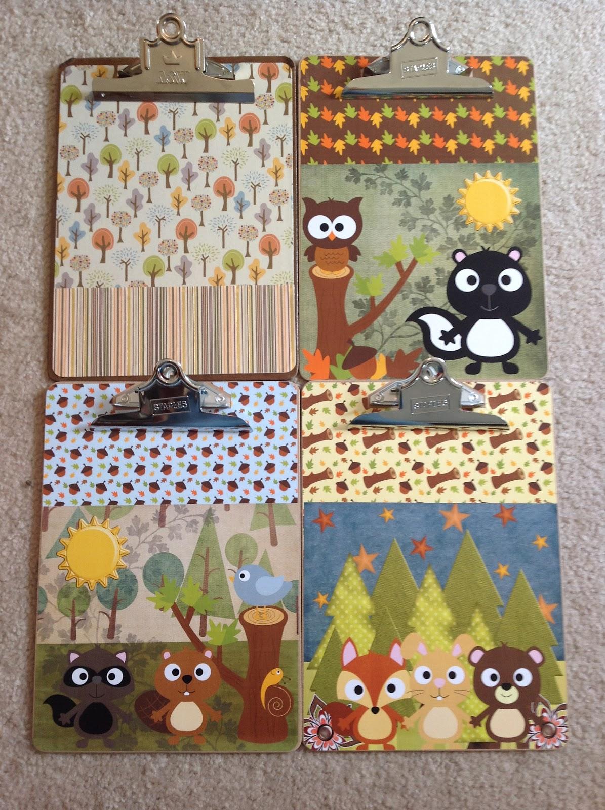 Decorative Clipboards For The Teacher