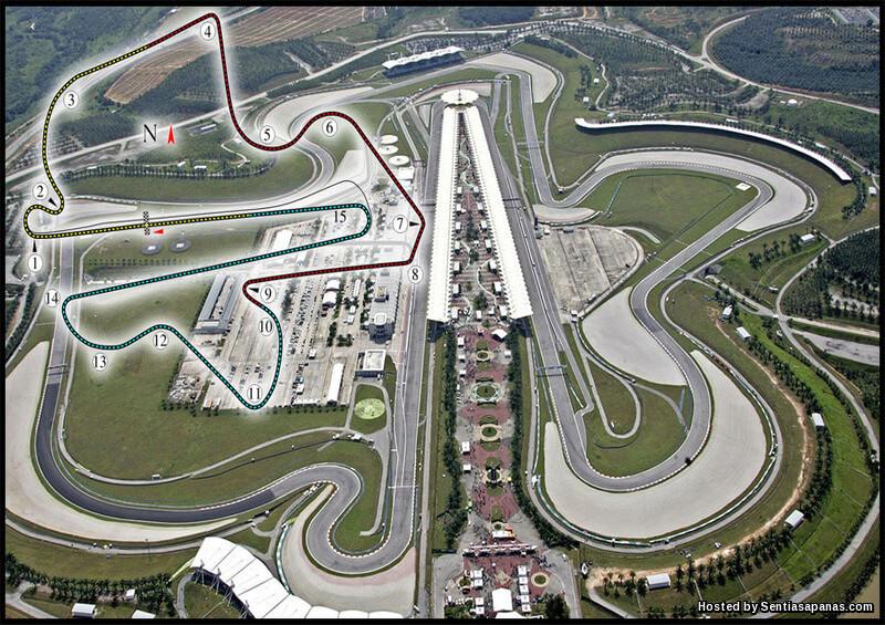 Formula 1 Litar Sepang