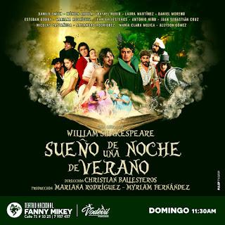 POS Sueño Una Noche De Verano | Teatro Nacional Fanny Mikey