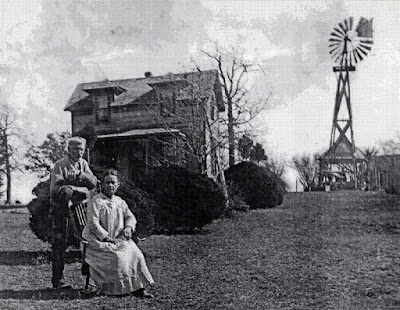 Alexis and Susan Kephart at Cedar Lawn Farm Later Years