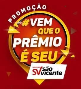 Cadastrar Promoção São Vicente Supermercados Vem Que O Prêmio É Seu