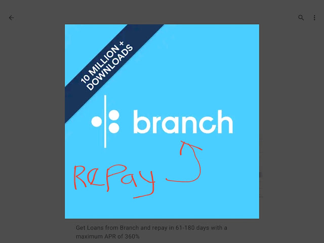 How to repay Branch International Loans In Nigeria