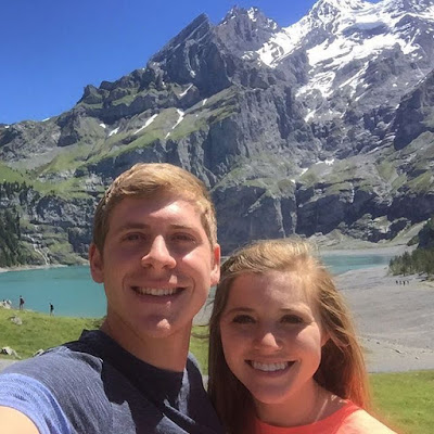 Joy and Austin Forsyth honeymoon in Kandersteg, Switzerland