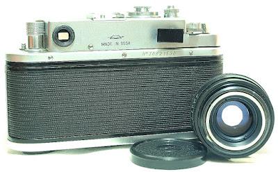 Zorki-4K #590, Jupiter-8 50mm F2 #590