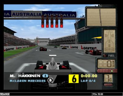 【N64】F-1世界大賽1+2系列合集,速度感強烈的擬真賽車!